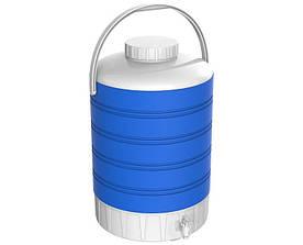 Термос диспенсер для розливу напоїв 15 л синій Kale Mazhura MZ-1006-BLUE