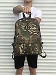 Спортиный мужской рюкзак камуфляжный, фото 2