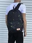 Серый спортивный рюкзак, фото 2