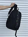 Серый спортивный рюкзак, фото 4