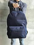 Синий удобный спортиный рюкзак, фото 2