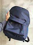 Синий удобный спортиный рюкзак, фото 3