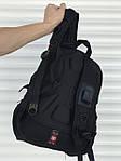 Качественный черный рюкзак Victory, фото 3