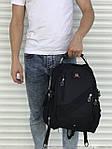 Качественный черный рюкзак Victory, фото 5