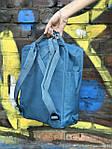 Женский cпортивный рюкзак Kanken, голубой, фото 4