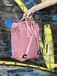 Женский cпортивный рюкзак Kanken, розовый, фото 3
