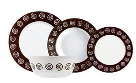 Сервиз столовый Luminarc Sirocco Brown N4867 19 предметов