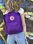 Фиолетовый рюкзак Fjallraven Kanken, фото 2