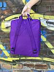 Фиолетовый рюкзак Fjallraven Kanken, фото 4