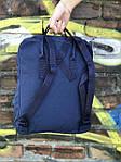 Синий рюкзак Fjallraven Kanken, фото 5