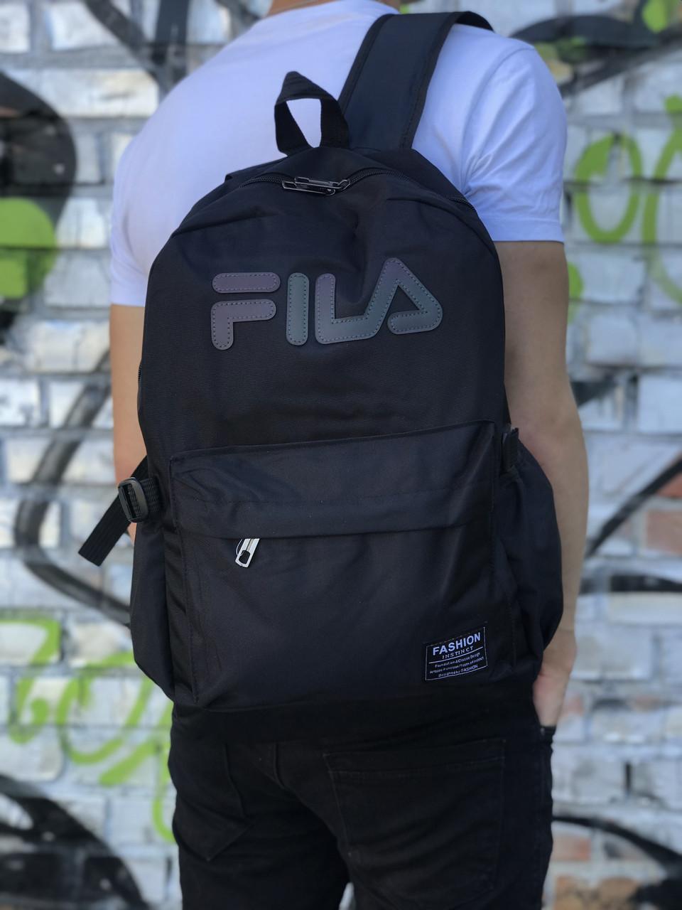 Спортивный рюкзак для школы и спорта Fila (светоотражающий)