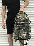 Большой мужской рюкзак с рассувным дном, 40л + 5л, фото 3