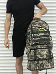Большой мужской рюкзак с рассувным дном, 40л + 5л, фото 4