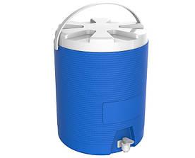 Термос диспенсер для розливу напоїв 25 л синій Kale Mazhura MZ-1013-BLUE