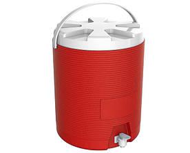 Термос диспенсер для розливу напоїв 25 л червоний Kale Mazhura MZ-1013-RED