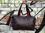 Женский спортивная сумка Puma Ferrari, темно фиолетовая, фото 6