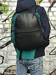 Качественный кожаный рюкзак для школы и спорта, Calvin Klein, фото 3