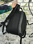 Качественный кожаный рюкзак для школы и спорта, Calvin Klein, фото 4