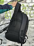 Качественный мужской рюкзак из кожаным дном, фото 5