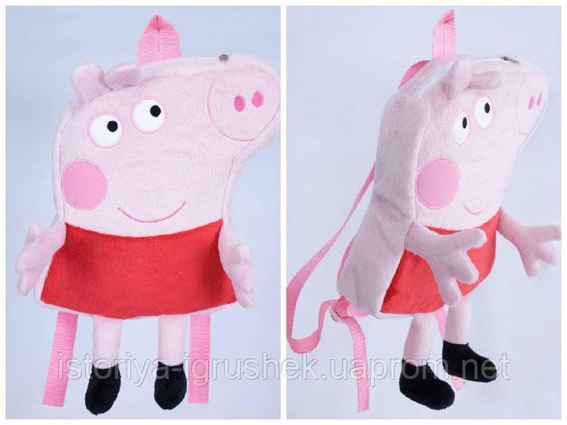 Детский рюкзак свинка Пеппа 1 (высота 25 см)