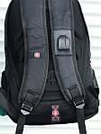 Рюкзак Swissgear, черный, фото 6