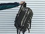 Тактичный камуфляжный рюкзак на 45 литров, фото 3