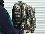 Тактичный камуфляжный рюкзак на 45 литров, фото 5