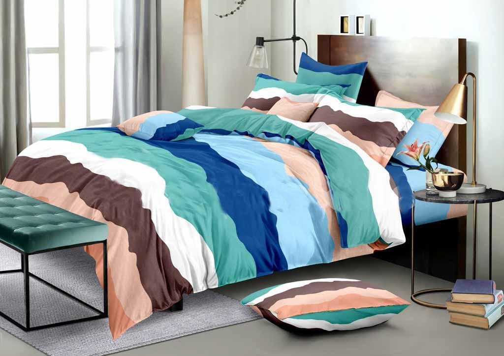 Стильное постельное белье разного цвета