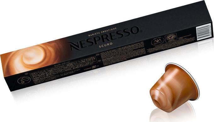 Кофе в капсулах Nespresso Barista Scuro, Швейцария Неспрессо