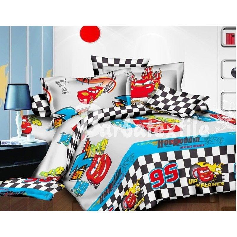 Комплект детского качественного постельного белья евро размер, маквин