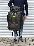 Качественный тактический рюкзак на 65 литров, хаки, фото 3