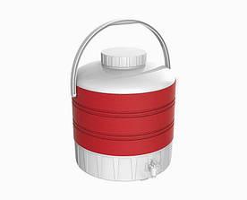 Термос диспенсер для розливу напоїв 9 л червоний Kale Mazhura MZ-1008-RED