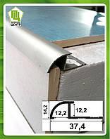 Угол для плитки до 12 мм наезжающий ОАП 12