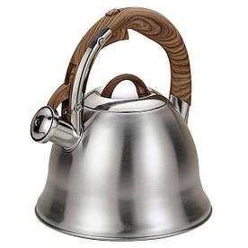 Чайник зі свистком на 3 л Maestro MR-1320-W