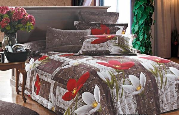 Комплект постельного белья Евро - Пролісок