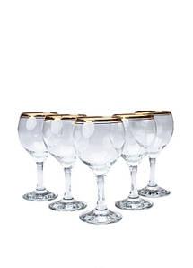 Набор бокалов 260 мл 6 шт Atlantica Gurallar Art Craft 31-146-103