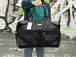 Черная сумка из натуральной кожи David Jones, фото 2