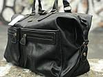 Черная сумка из натуральной кожи David Jones, фото 3