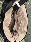 Черная сумка из натуральной кожи David Jones, фото 6