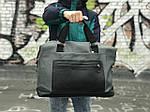 Стильная серая дорожная сумка, фото 2