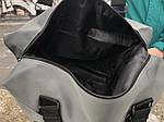 Стильная серая дорожная сумка, фото 6