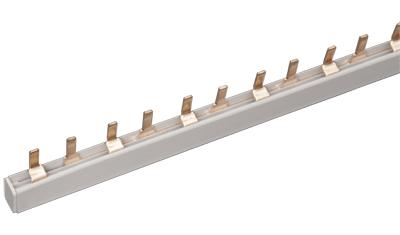 Шина соединительная типа PIN (штырь) 2Р 63А (1м) IEK