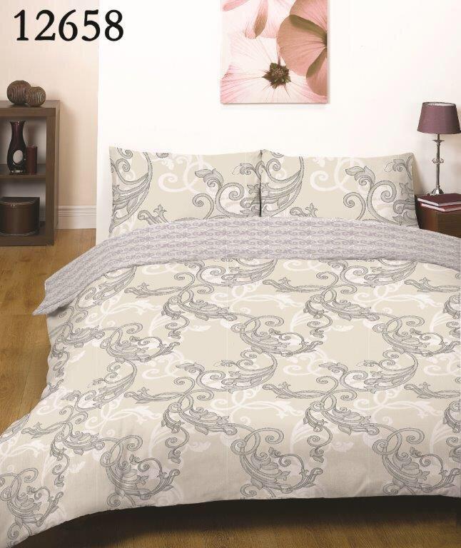 Семейное постельное белье топ качества, серые ветки