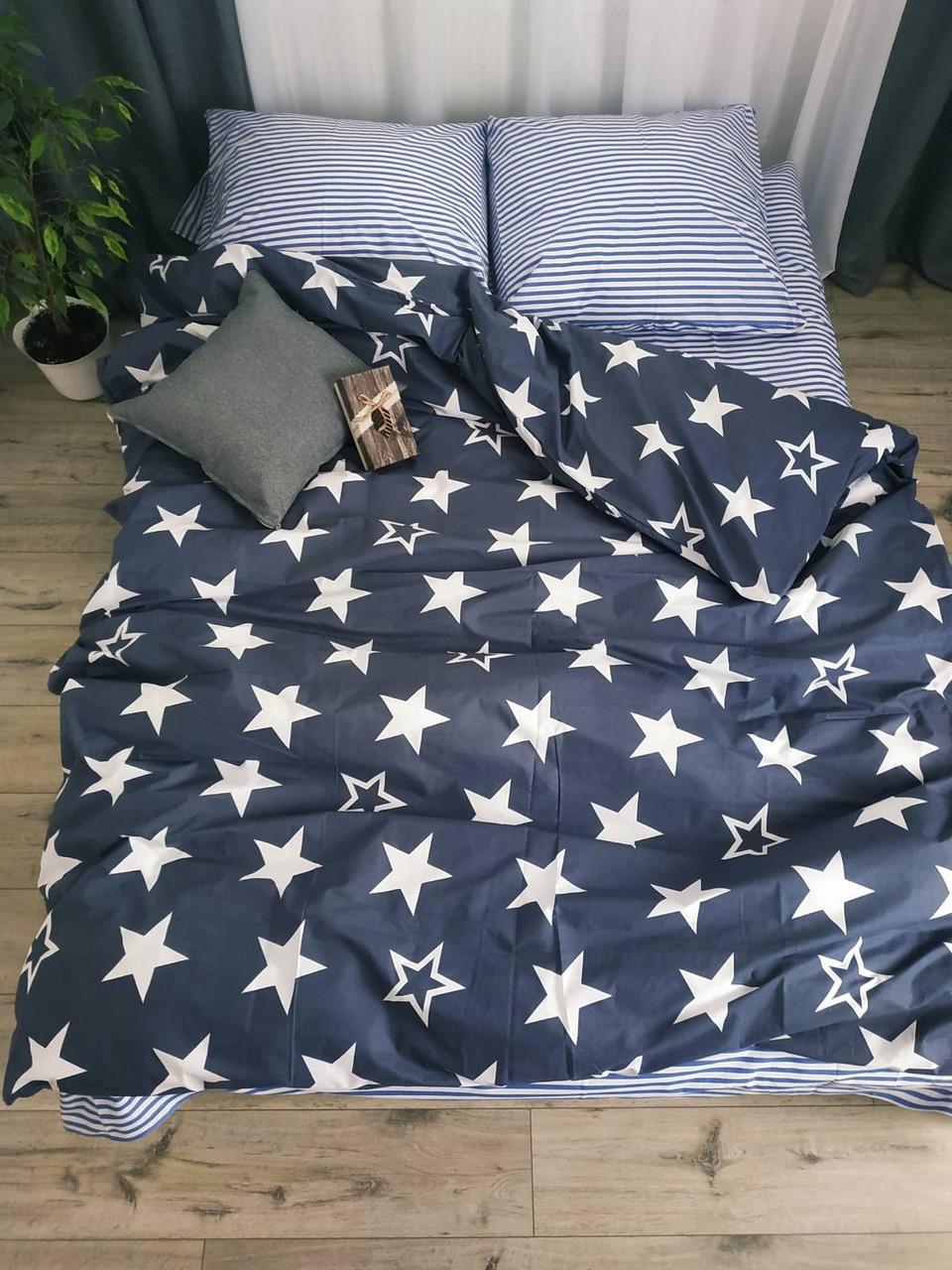 Комплект стильного постельного белья семейка, Андромеда