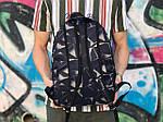 Спортивный рюкзак синего цвета с узорами, фото 2