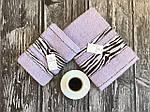 Полотенце банное + полотенце для лица серые, фото 4