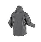 Куртка софтшелл с капюшоном, графит, M (комплект с брюками ELDE) HOEGERT INN HT5K254-M, фото 2