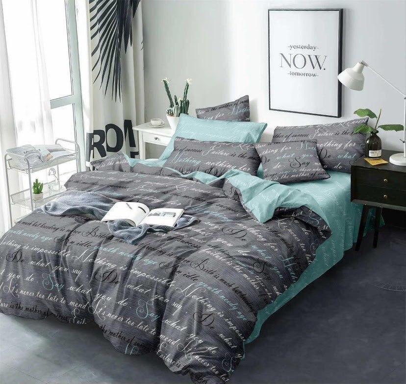 Комплект красивого и качественного постельного белья семейка
