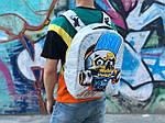 Спортивный школьный рюкзак Череп, фото 2