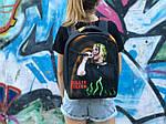 Спортивный школьный рюкзак Bilie Eilish, фото 4